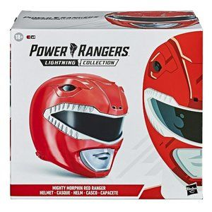 Power Rangers Lighting Collection Red Helmet